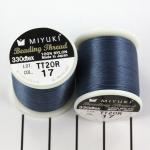 miyuki beading draad B - denim blauw