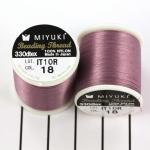 miyuki beading thread B - lilac purple