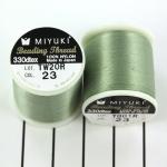 miyuki beading thread B - green sea foam