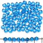 konisch 6 mm - turquoise aqua