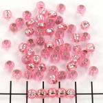 murano beads - pink