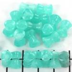 kunststof natuurstenen diabolo - turquoise