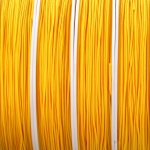 nylon cord 0.8 mm - yellow