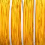 nylonkoord 0.8 mm - geel