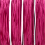 nylon cord 0.8 mm - fuchsia
