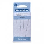 beadalon collapsible eye needle - fine 6.4 cm