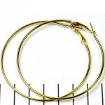 creolen oorringen - goud 6 cm