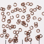 open ring brons - 4 mm