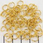 open ring goud - 8 mm