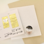 DIY Kit bead embroidery - basic white