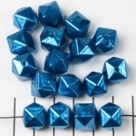acrylic pearls cube - dark turquoise