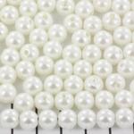 kunststof parels rond 8 mm - wit