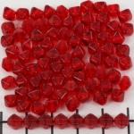 konisch 6 mm - rood siam
