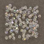 preciosa bicone 3 mm - crystal ab