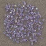 preciosa bicone 3 mm - violet ab