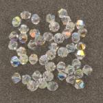 preciosa bicone 4 mm - crystal AB