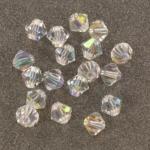 preciosa bicone 6 mm - crystal ab
