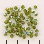 preciosa rond facet 3 mm - olivine ab