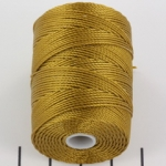 c-lon bead cord 0.5mm - antique gold