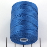 c-lon bead cord 0.5mm - blue lagoon