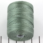 c-lon bead cord 0.5mm - celadon