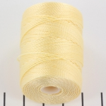 c-lon bead cord 0.5mm - cream