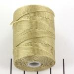c-lon bead cord 0.5mm - flax
