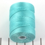 c-lon bead cord 0.5mm - ice blue