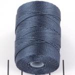 c-lon bead cord 0.5mm - indigo