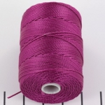 c-lon bead cord 0.5mm - light magenta