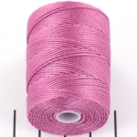 c-lon bead cord 0.5mm - light orchid