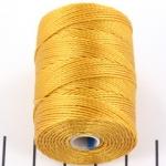 c-lon bead cord 0.5mm - marigold