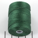 c-lon bead cord 0.5mm - myrtle green