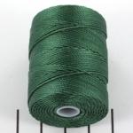 c-lon bead cord - myrtle green