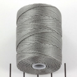 c-lon bead cord 0.5mm - nickel