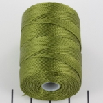 c-lon bead cord 0.5mm - olivine