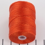 c-lon bead cord 0.5mm - orange
