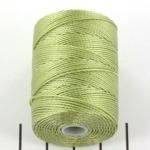 c-lon bead cord 0.5mm - peridot