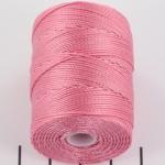 c-lon bead cord 0.5mm - pink