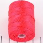c-lon bead cord 0.5mm - poinsetta