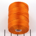 c-lon bead cord 0.5mm - popsicle orange