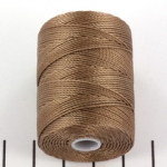 c-lon bead cord 0.5mm - sable