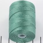 c-lon bead cord 0.5mm - sage