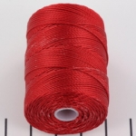 c-lon bead cord 0.5mm - shanghai red