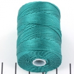 c-lon bead cord 0.5mm - teal