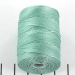 c-lon bead cord 0.5mm - turquoise