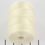 c-lon bead cord 0.5mm - vanilla