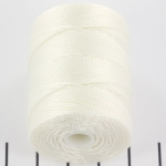 c-lon bead cord 0.5mm - white