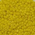 seed beads 12/0 opaque - yellow