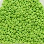 rocailles 12/0 opaque - licht groen